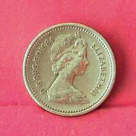 GREAT BRITAIN 1 POUND 1984 -    KM# 934 - (Nº27550) - 1971-…: Dezimalwährungen