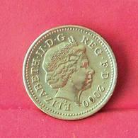 GREAT BRITAIN 1 POUND 2000 -    KM# 1005 - (Nº27551) - 1971-…: Dezimalwährungen