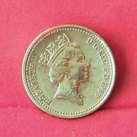 GREAT BRITAIN 1 POUND 1989 -    KM# 934 - (Nº27553) - 1971-…: Dezimalwährungen