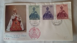 Enveloppe 1°  Jour...poste VATICAN ..1968  NATIVITAS  D. N. J.  CHRISTI  MCMLXVIII - Joint Issues