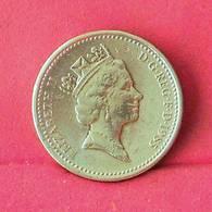 GREAT BRITAIN 1 POUND 1985 -    KM# 941 - (Nº27554) - 1971-…: Dezimalwährungen
