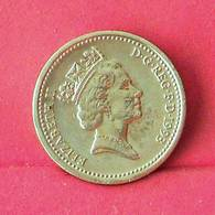 GREAT BRITAIN 1 POUND 1993 -    KM# 964 - (Nº27556) - 1971-…: Dezimalwährungen