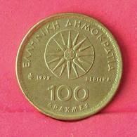 GREECE 100 DRACHMES 1992 -    KM# 159 - (Nº27557) - Grèce