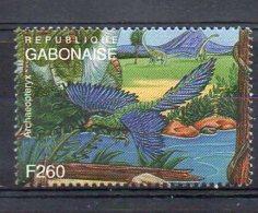 GABON. PREHISTORIC FAUNA. MNH (2R4105) - Briefmarken