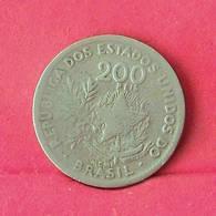BRAZIL 200 REIS 1901 -    KM# 504 - (Nº27561) - Brésil