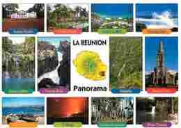 La Réunion - Multivues - Voir Scans Recto-Verso - La Réunion