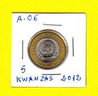 Republica De Angola - 10 Kwanzas 2012  - [A-06] - Angola