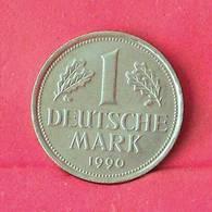 GERMANY FEDERAL REPUBLIC 1 MARK 1990 F -    KM# 110 - (Nº27565) - [ 7] 1949-… : FRG - Fed. Rep. Germany