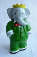 FIGURINE MARQUE INCONNUE 2000 BABAR  - DE BRUNHOFF - Figurines