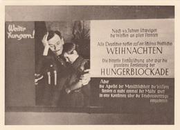 WEITER HUNGERN - Hungerblockade, Karte Des Messepalstes 1944 Großausstellung 1918 Mit Marke Robert Koch Und ... - Geschichte