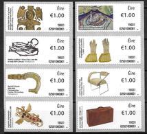 Irlande 2019 Série De Timbres Pour Distributeurs Neufs ** Objets Historiques - Vignettes D'affranchissement (Frama)