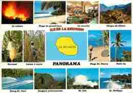 Ile De La Réunion - Multivues - Voir Scans Recto-Verso - La Réunion