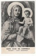 Santino Antico Madonna Del Carpinello Da Visciano Di Nola - Napoli - Religion & Esotérisme