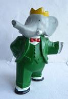 FIGURINE MARQUE INCONNUE BABAR  - DE BRUNHOFF 1 BRAS TENDU Pvc - Figurines