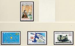 1997 - BOSNIA ERZEGOVINA - Mi.  Nr. 94/97 - NH - (UP121.25) - Bosnia Erzegovina
