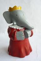 FIGURINE MARQUE INCONNUE BABAR  - DE BRUNHOFF CELESTE Pvc - Figurines