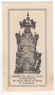 Santino Antico Madonna Della Neve Incoronata Da Lagonegro - Potenza - Religion & Esotérisme