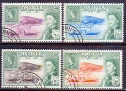 ANTIGUA 1962 SG #142-45 Compl.set Used Stamp Centenary - Antigua & Barbuda (...-1981)