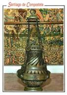 Espagne - Santiago De Compostela - Cathédrale - Encensoir Le Botafumeiro - Voir Scans Recto-Verso - Santiago De Compostela
