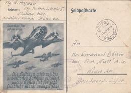 FELDPOST - BILDPOSTKARTE - Deutschland Steht Fest Und Ruhig … Karte Gel.1942 - Geschichte
