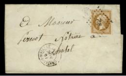 """VOSGES - LAC- Tàd T15 CHATEL S MOSELLE + PC 798 Sur N° 13 + BR """"K"""" (Girmont, Identifiée) Pour Chatel - Postmark Collection (Covers)"""