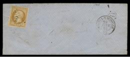 """VOSGES - LSC- Tàd T15 CHATEL S MOSELLE + GC 949 Sur N° 13II + Boite Rurale """"D"""" (non Identifiée) Pour Chatel - Postmark Collection (Covers)"""