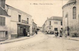 D60  ORRY  Place De L'Abbé Clin - France