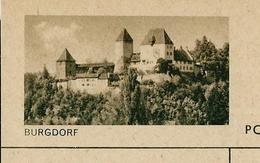 Carte Illustré Neuve N° 182 - 093 D   - BURGDORF  (Zumstein 2009) - Entiers Postaux