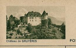 Carte Illustré Neuve N° 182 - 098 D  -  Château De GRUYERES  (Zumstein 2009) - Entiers Postaux