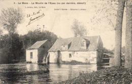 D72  LE MANS  Le Moulin De L' Epau ( Vu Par Derrière, Démoli )  ..... - Le Mans