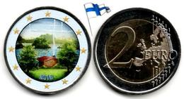 Finlande - 2 Euro 2018 (Finnish Sauna Culture - Color) - Finlande