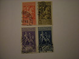 SVENDITA 1941 - TITO LIVIO, Serie Compl. Usata, 4 Val. TTB, OCCASIONE - 1900-44 Vittorio Emanuele III