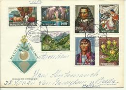 1968  Lubrapex  Complete Set On FDC  Sent As  Letter To Breda, Holland - FDC