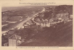 Vierville Sur Mer, La Plage Vue De La Couturette (pk56123) - Francia