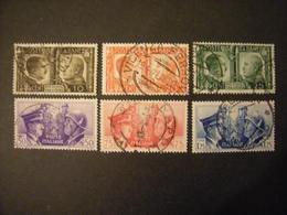 SVENDITA -1941,  Sass. N. 452/57, FRATELLANZA ITALO TEDESCA, Serie Cpl. Usata, TTB - Usati