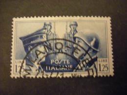 SVENDITA -1941,  Sass. N. 457, FRATELLANZA ITALO TEDESCA, L. 1,25. Usat0, TTB - 1900-44 Vittorio Emanuele III