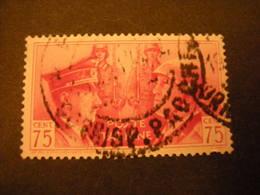SVENDITA -1941,  Sass. N. 456, FRATELLANZA ITALO TEDESCA, L. 0,75. Usat0, TTB - 1900-44 Vittorio Emanuele III