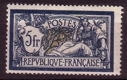 Type Merson YT N° 123 5f Bleu Et Chamois NEUF* - France
