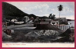 Jamaica - Jamaique - Rock Fort Near Kingston - Animée - Serie Aston W. GARDNER - Jamaïque