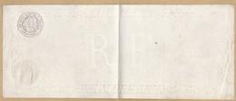 Feuille De Traite Révolution Brumaire An 7 De 1000 à 2000.1 Les Tables De La Loi - Historical Documents