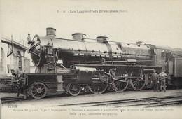Les Locomotives Francaises  Machine  No.3.1218  Type  - Superpacific  -  2 Scans - Francia