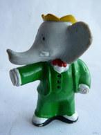 FIGURINE MARQUE INCONNUE BABAR  - DE BRUNHOFF UN BRAS TENDU  1990 PVC - Figurines