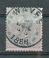 39 Gestempeld WAVRE - Cote 12,00 + COBA 4 Euro - 1883 Leopold II
