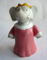 FIGURINE MARQUE INCONNUE BABAR  - DE BRUNHOFF CELESTE  1990 PVC - Figurines
