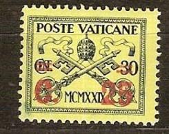 Vatican Vatikan 1931 Yvertn° 39 (*)  MLH Cote 5,00 Euro - Vatican