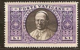 Vatican Vatikan 1933 Yvertn° 53 (*)  MLH Cote 10,00 Euro - Vatican