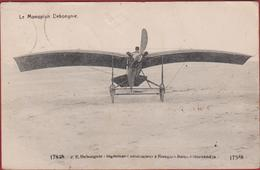 Nieuwpoort World War 1 I Communication September 1914 WW (No German Soldiers Yet At Nieuport) Avion Monoplane Debognie - Guerre 1914-18
