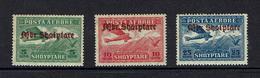 ALBANIA...1929...airmail...mh - Albania