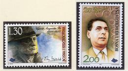 1997 - BOSNIA ERZEGOVINA - Mi.  Nr. 111/112 - NH - (UP121.25) - Bosnia Erzegovina