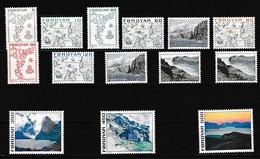 Faeroer 1975 Nr 1/14 **, Zeer Mooi Lot K968 - Féroé (Iles)